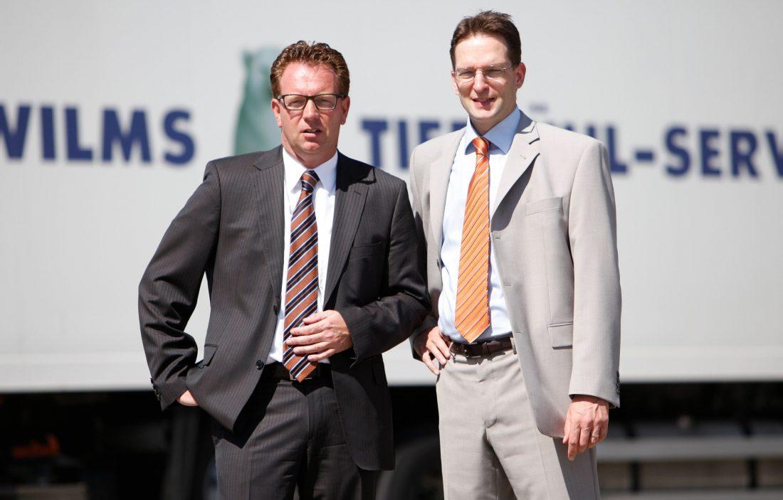Die Gesellschafter Markus Wilms (li) und Armin Feemers (re)